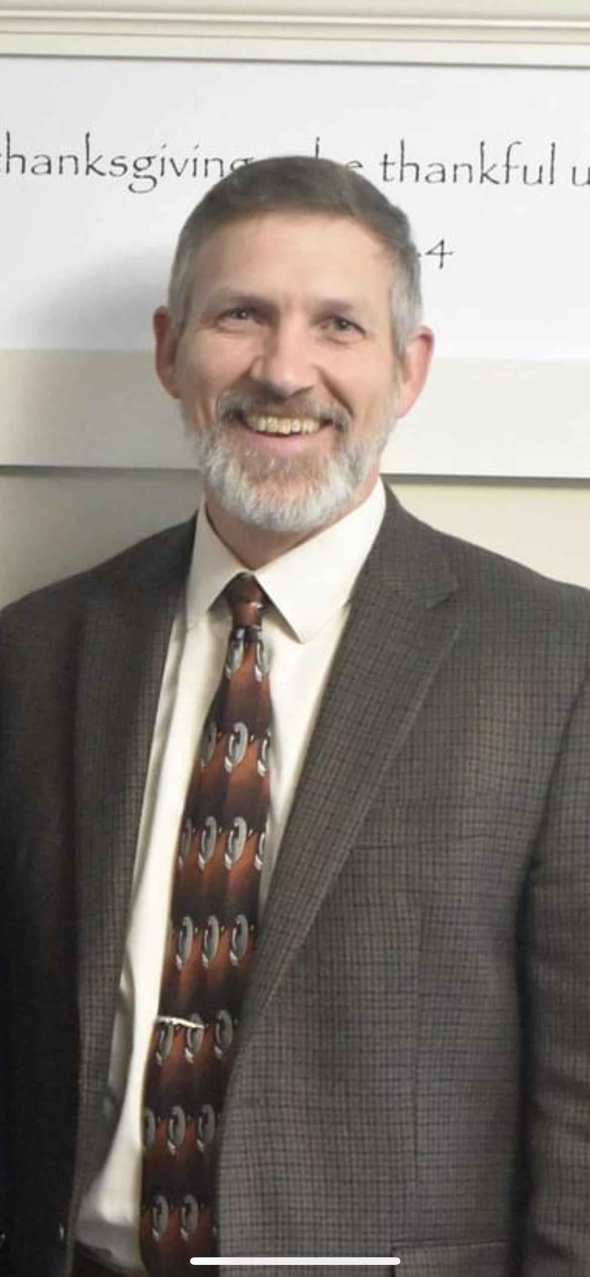 Pastor Keith Hilton